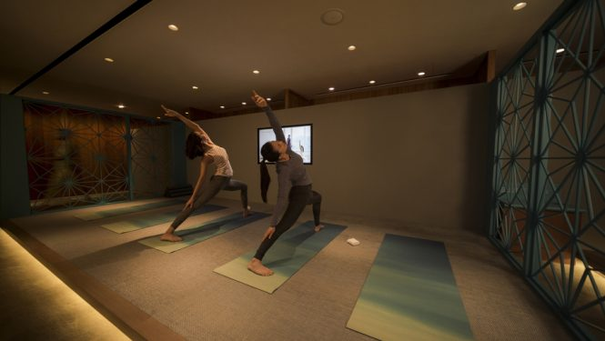 Cathay Pacific yoga