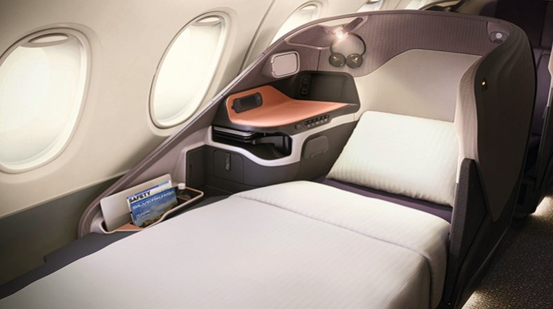 business Class singapore airlines